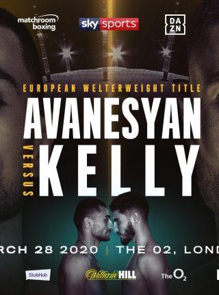 AVANESYAN VS. KELLY Poster