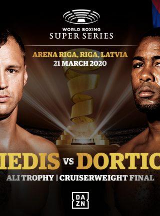 Briedis vs Dorticos Poster
