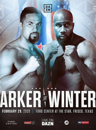 Parker vs Winters Poster