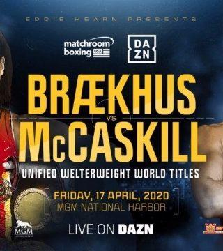 Cecilia Braekhus vs Jessica McCaskill Poster