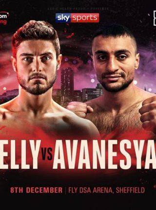David Avanesyan vs Josh Kelly Poster