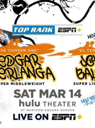 Edgar vs Berlanga Poster