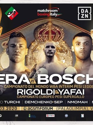 Francesco Patera vs Devis Boschiero Poster