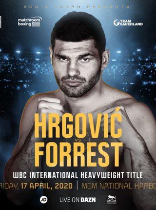 Hrgovic vs Forrest Poster