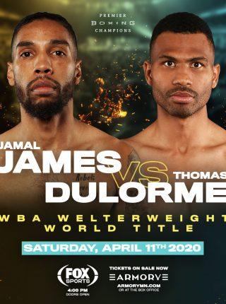 Jamal James vs Thomas Dulorme Poster