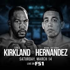 James Kirkland vs Marcos Hernandez Poster