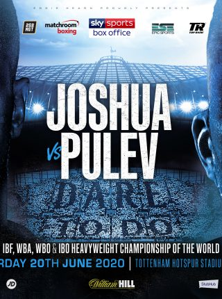 Joshua vs Pulev Poster