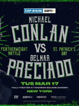 Michael Conlan vs Belmar Preciado Poster