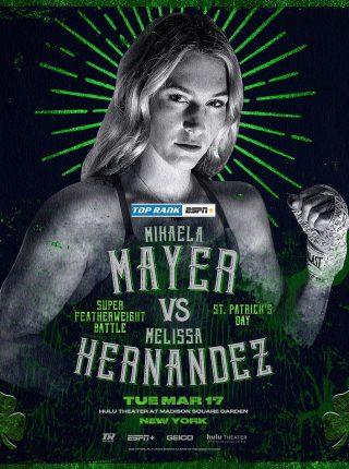 Mikaela Mayer vs Melissa Hernandez Poster
