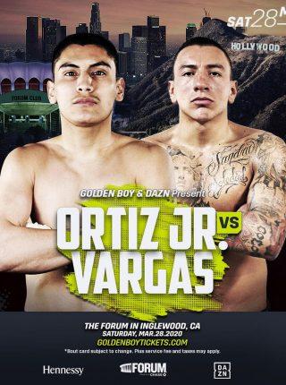 Ortiz jr vs Vargas Poster