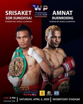 Srisaket Sor Rungvisai vs Amnat Ruenroeng Poster