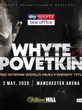 Whyte vs Povetkin Poster