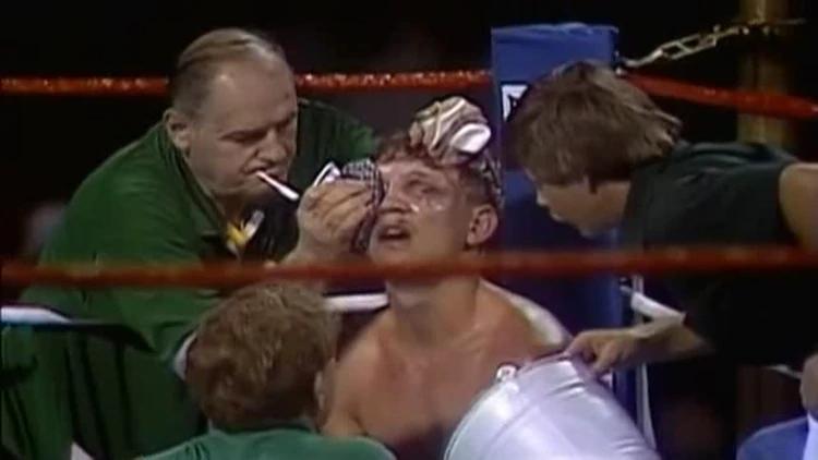 Billy Collins Jr Verletzungen im Kampf