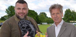 Promoter Alexander Petkovic und Bernd Jorkisch