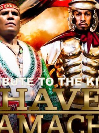 Julio Cesar Chavez Sr. vs Hector Camacho Jr. Poster