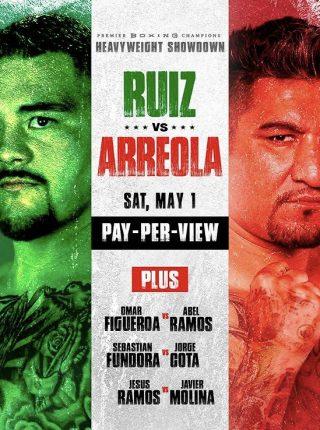 Ruiz vs Arreola Fightposter 2
