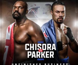 Chisora vs Parker Poster 1