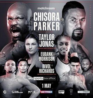 Chisora vs Parker Poster 2