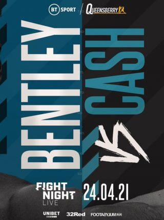 Denzel Bentley vs Felix Cash Poster