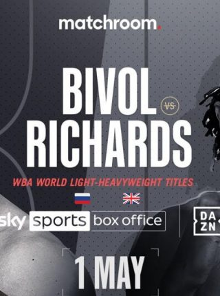 Dmitry Bivol vs Craig Richards Poster