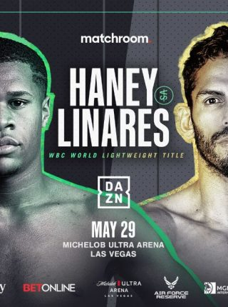 Haney vs Linares Poster