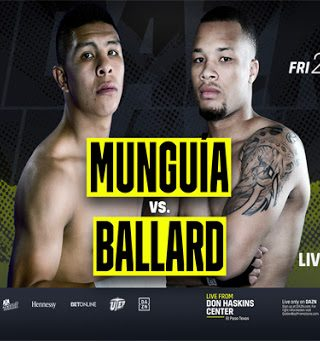 Munguia vs Ballard Poster