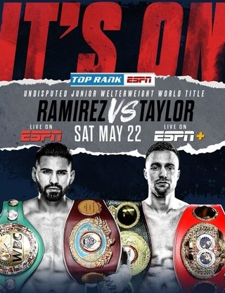 Taylor vs Ramirez Poster